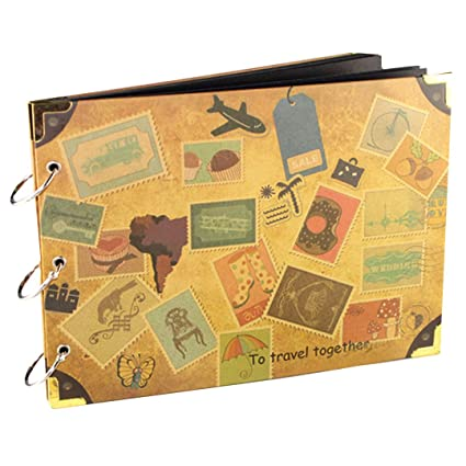 La Haute Scrapbooking Diy Album Photo De Voyage Journal Mariage Livre D Or Anniversaire Saint Valentin Cadeau D Anniversaire 1