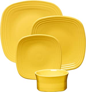 product image for Fiesta 19-Ounce Square Medium Bowl, Sunflower