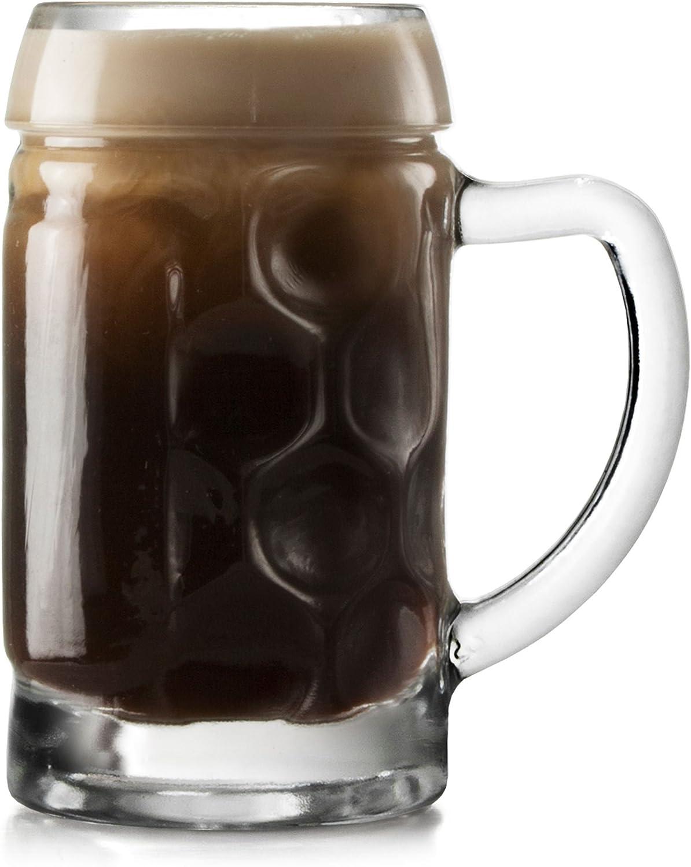 Stölzle 04533/12 Mini Jarra de Cerveza Set de Vasos para chupito Altura 7,1 cm 12 Unidades