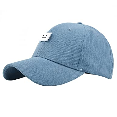 Sidiou Group Couple Hat Demin Cap Men and Women Baseball Cap Fashionable Hat  for Outdoor   59b2ee58034