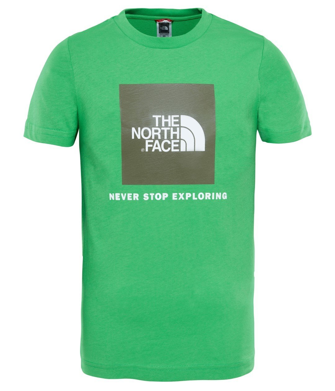 THE NORTH FACE und Box S/S Tee Classic Green T-Shirt, Damen