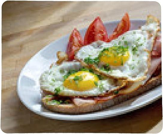 alfombrilla de ratón strammer max, pan con jamón y huevo ...