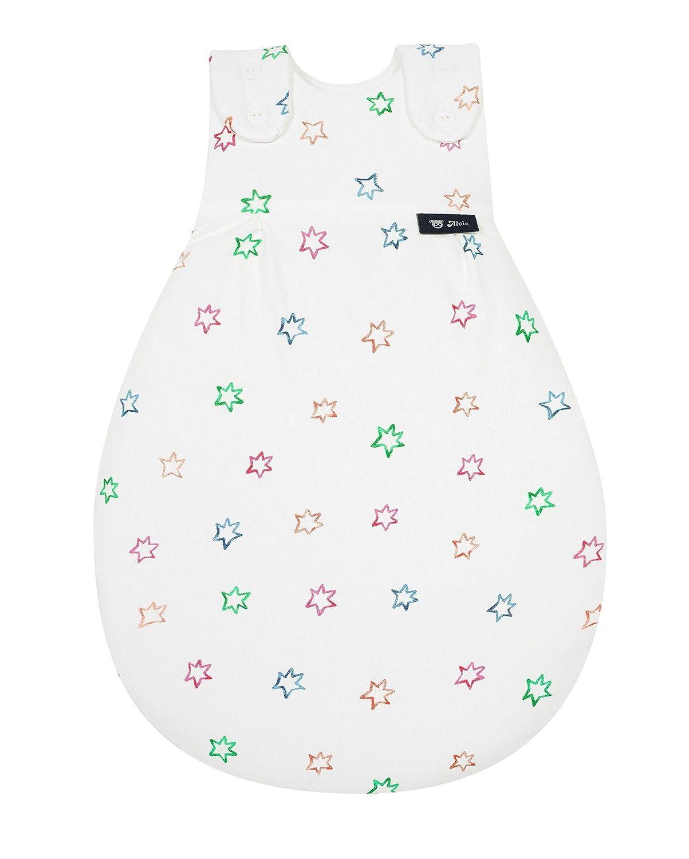 Alvi Baby M/äxchen Au/ßensack Exclusiv I Baby-Schlafsack mitwachsend /& atmungsaktiv I Kinderschlafsack waschbar I leichter Schlafsack /ÖKO-tex gepr/üft Gr/ö/ße:50//56 Design:B/ärchen grau