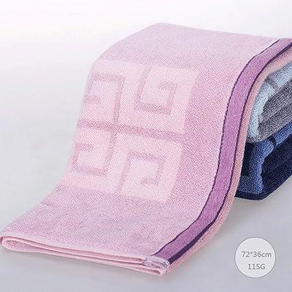 ZLR Lavado absorbente de agua suave de algodón suave Toalla facial de adulto para el hogar