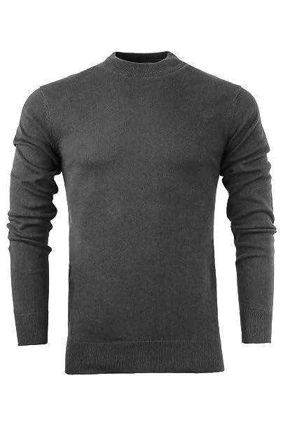 bd58f20d452330 Brave Soul Men's 100% Cotton Premium Turtle Neck Jumper Roll Neck Sweater:  Amazon.co.uk: Clothing