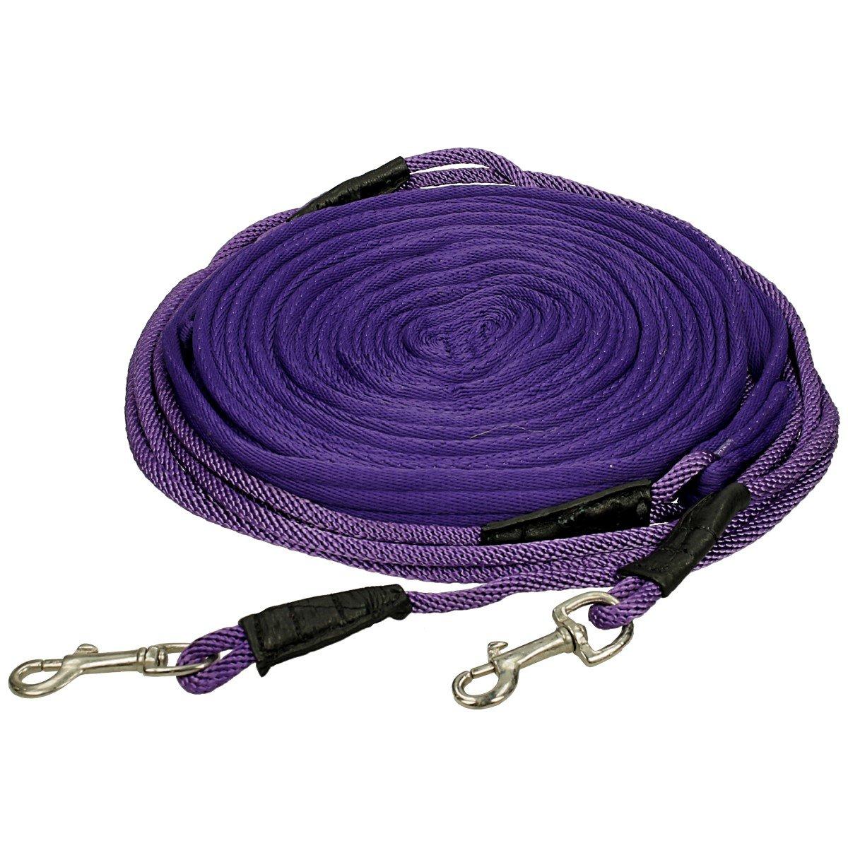 Epplejeck Doppellonge Weich - Violett - Gr. Full