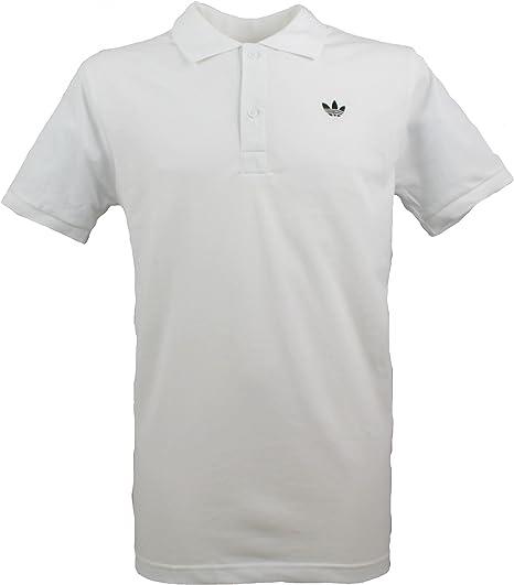 adidas hombre Originals Trefoil Polo de piqué En Varios Colores Get La Etiqueta - Blanco, Grande: Amazon.es: Deportes y aire libre