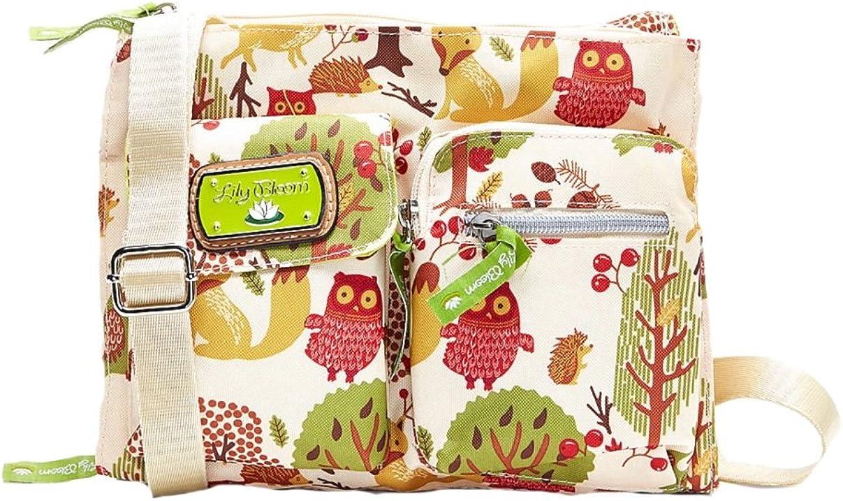 Lily Bloom Forest Owl Regina Crossbody Bag
