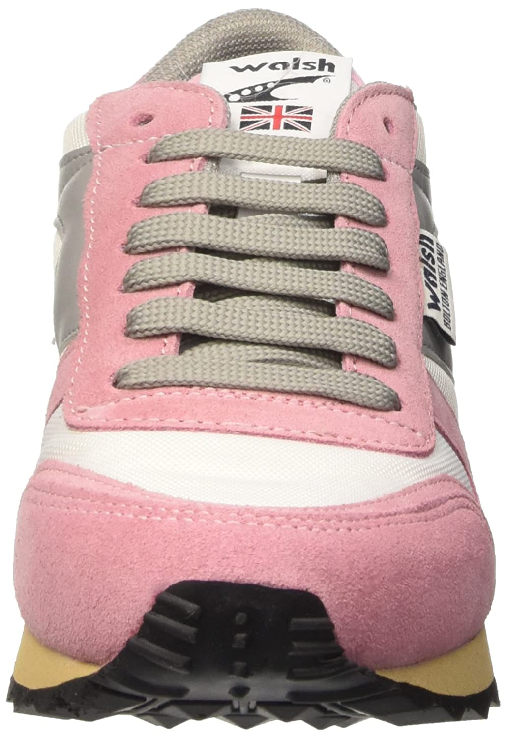 V10BWRSGG - Gymnastique, Multicolore (Bright Blanc/Rose Shadow), Taille 36Walsh
