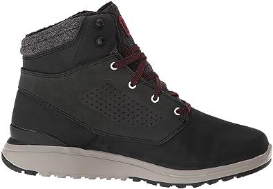 78fbcde892309 Salomon Utility Winter CS WP Black Black Red Dahlia  Amazon.fr  Chaussures  et Sacs