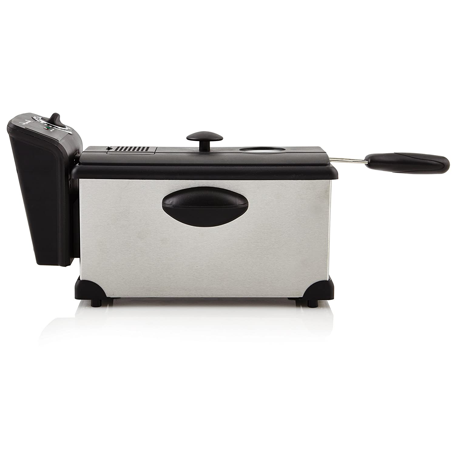 Continental Electric PS75911 Electric Deep Fryer 3 Liter Silver