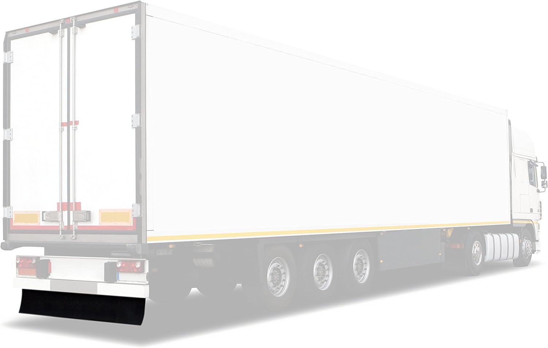 Heckschürze Neutral 2400 X 380 Mm Befestigungsschienen Lkw Anhänger Auflieger Leichte Ausführung 3 6kg Auto