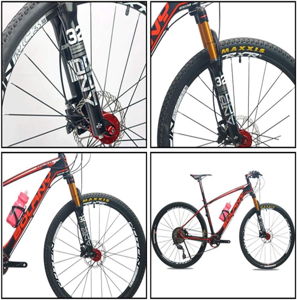 WXX 27.5//29 Zoll Mountainbike Federgabel Aluminiumlegierung Achselkontrolle Fahrrad Air Gabel Scheibenbremsen Hub 100 mm,27.5 inch