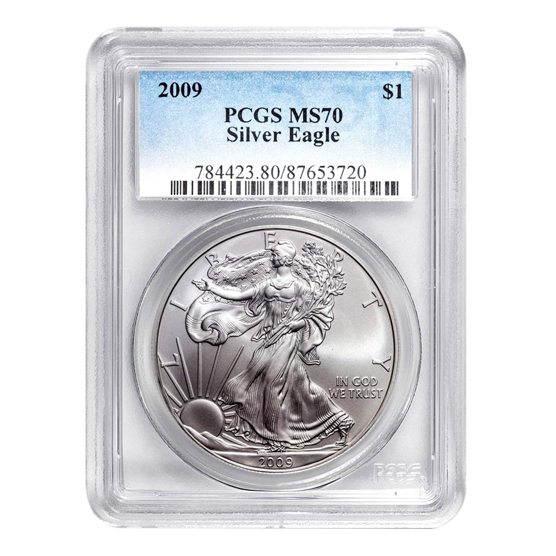 2009 American Silver Eagle PCGS MS-70