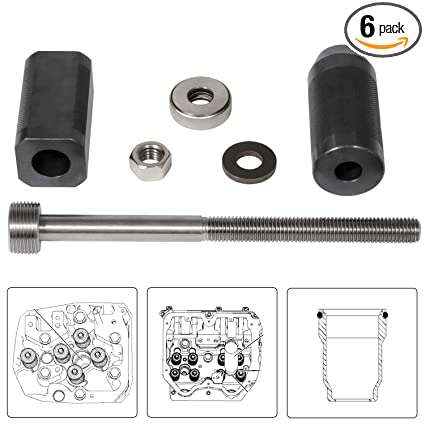 For Caterpillar 9U-6891 Injector Tool Sleeve Remover & Installer Tool Group  For CAT 3406E C10 C12 C15 C16 C-18 Engines
