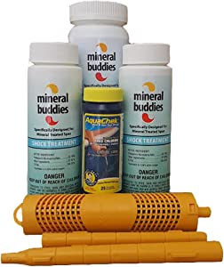 Carefree Stuff Nature 2 Spa Stick Mineral Sanitizer Mineral Buddies Refill Kit