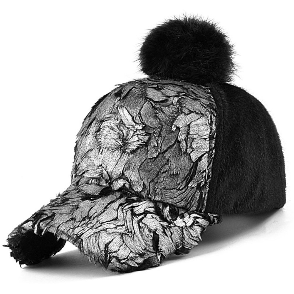 Plush Baseball Hats Outdoor Sunhats Warm Cap