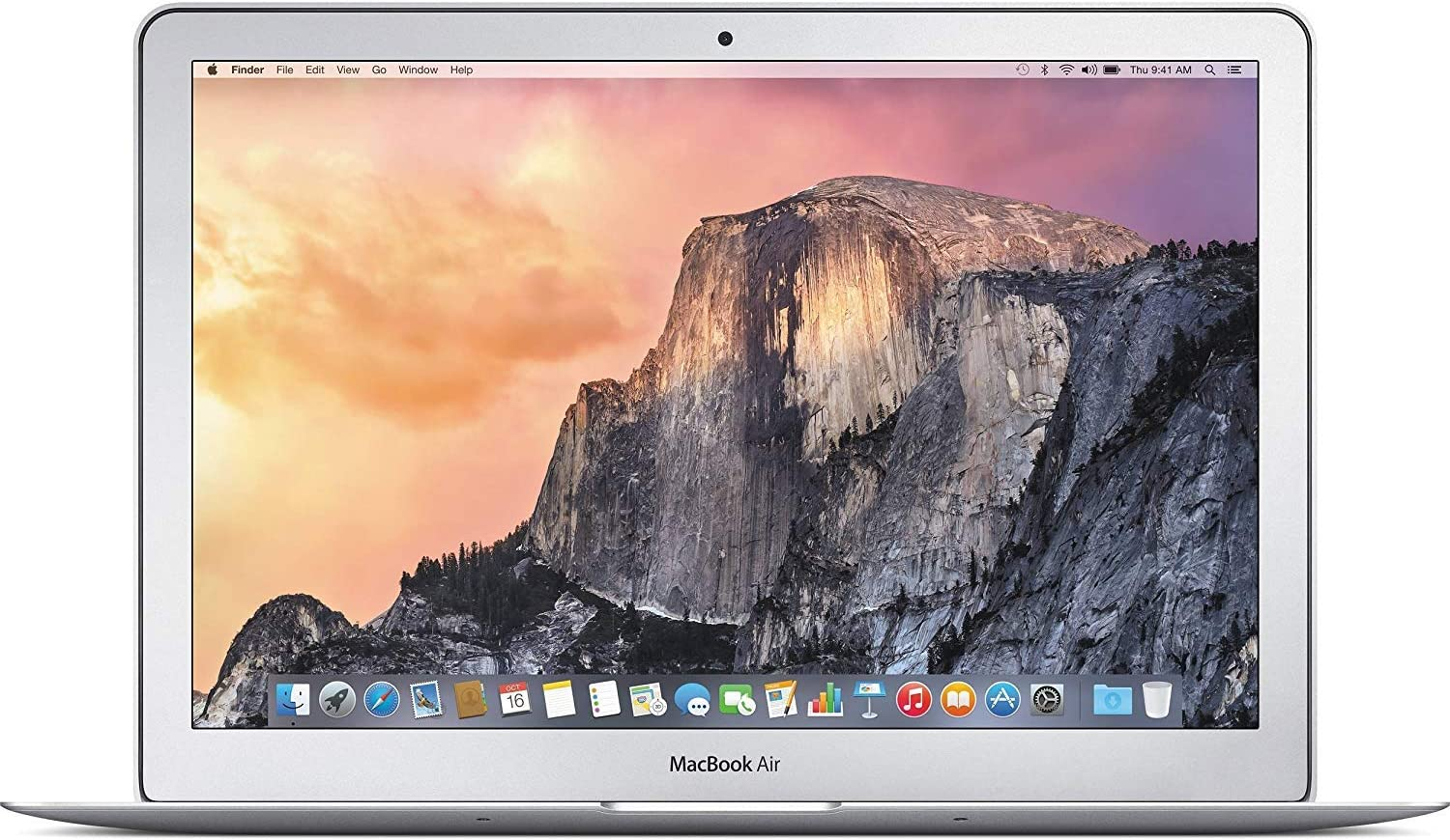Apple MacBook Air MF068LL/A Intel Core i7-4650U X2 1.7GHz 8GB 128GB, Silver (Renewed)
