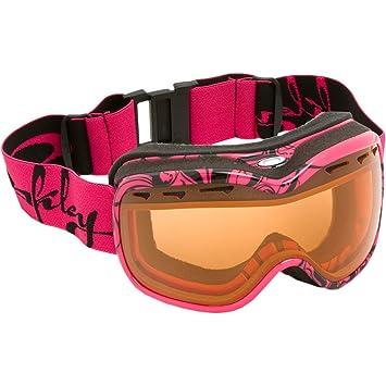 fd631fd4eb2 Oakley Women s Stockholm Rectangular Plutonite Asian Fit Snow Goggles  (Lava Black
