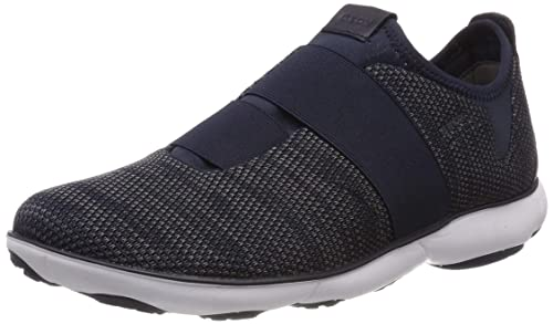 57288c3b46 Geox Mens Sneakers U Nebula G Knitted Slip On Casual Shoes: Amazon ...