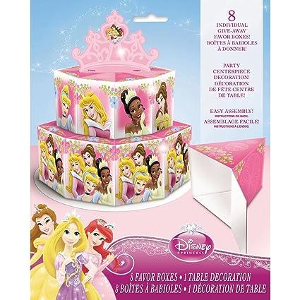 Amazon.com: Disney Princess cajas con diseño de centro de ...