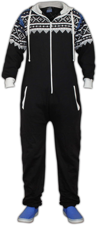 Kids Unisex AZTEC PRINT Hooded Zip Jumpsuit Playsuit Girls Boys Age 7-13 year