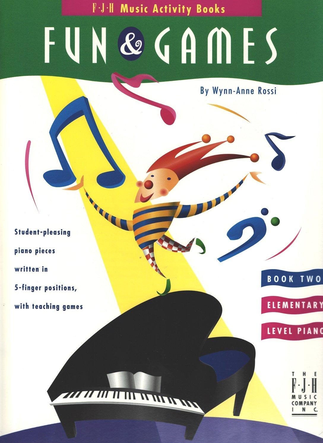 FJH1221 - Fun & Games - Book 2