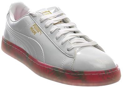 PUMA Mens Basket City Mia Casual Sneakers,