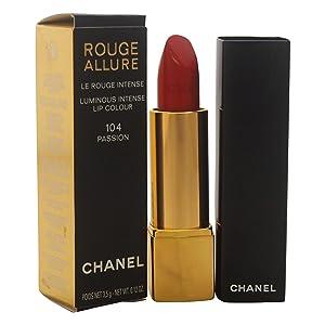 Chanel Rouge Allure Luminous Intense Lip Colour, 104 Passion, 0.12 Ounce