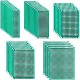 40枚 ユニバーサル基板 PCB回路基板 PCBボード プリント基板 はんだ付け 両面 DIY 5サイズ