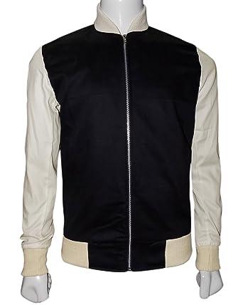 d9fa98131 The American Fashion Ansel Elgort Baby Driver Varsity Jacket at ...
