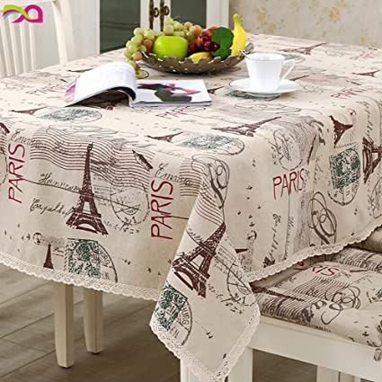 Ordinaire CJ Fashion Burlap Table Runner Lace Tablecloth For Parties Picnic Table  Covers