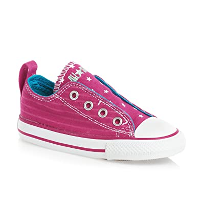 Amazon.com  Converse Kids  Chuck Taylor All Star Simple Slip Ox (Infant  Toddler)  Shoes b1f9d50ac