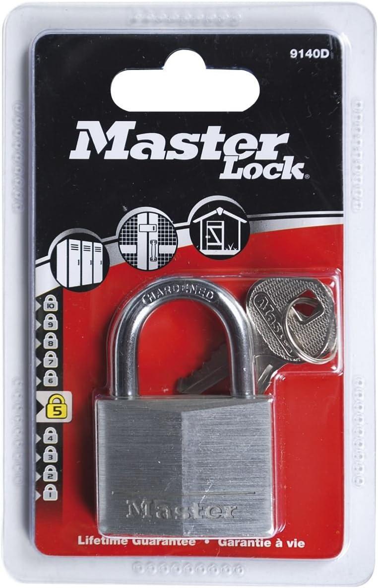 Master Lock Aluminium Vorh/ängeschloss