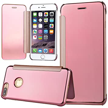 49b202ef375 Funda iPhone 7 Plus iPhone 8 Plus, WE LOVE CASE Piel y Tipo Cartera Carcasa  Funda ...