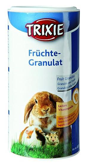Vitaminas para roedores Granulado de frutas TRIXIE 125 grs.