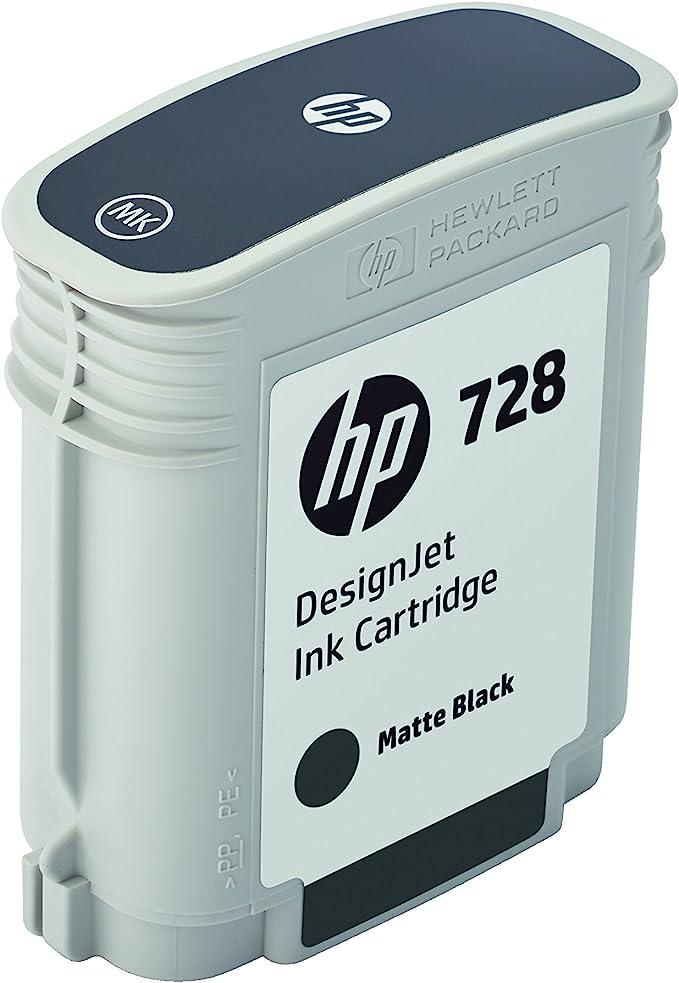 Hp F9j64a Tintenpatrone 728 Original Matt Schwarz Bürobedarf Schreibwaren
