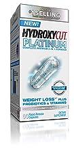 Hydroxycut Platinum Weight Loss Supplements Plus Active Probiotics & Vitamins