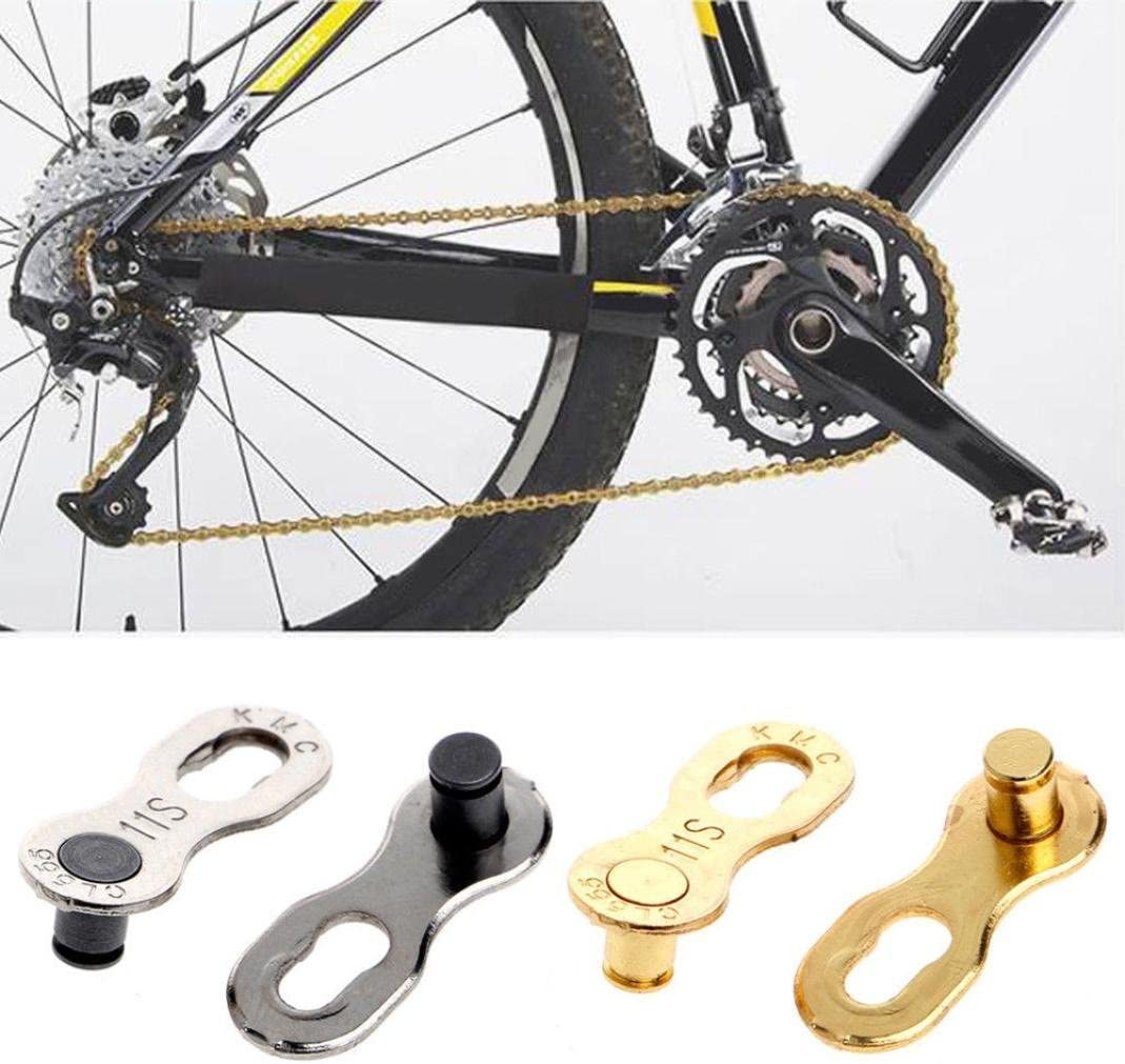 2Pcs//Set KMC Missing Bike Master Chain Link Connector 11 Speed Chains Quick Clip