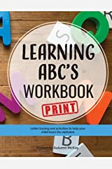Learning ABC's Workbook - Print: Tracing and activities to help your child learn print uppercase and lowercase letters (Early Learning Workbook) Paperback