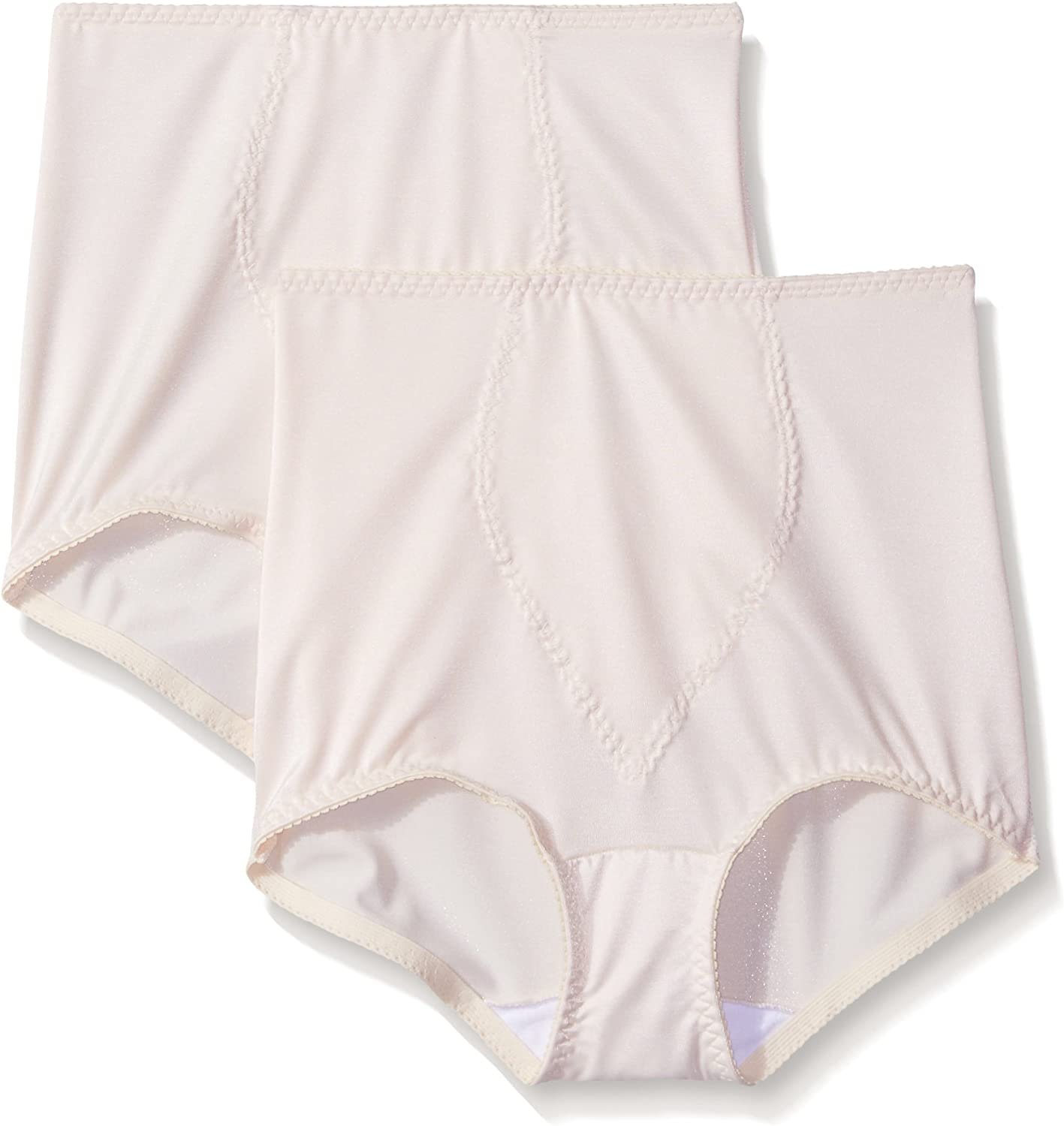 Hanes Shapewear Women's Light Control 2 Pack Tummy Control Brief at  Women's Clothing store