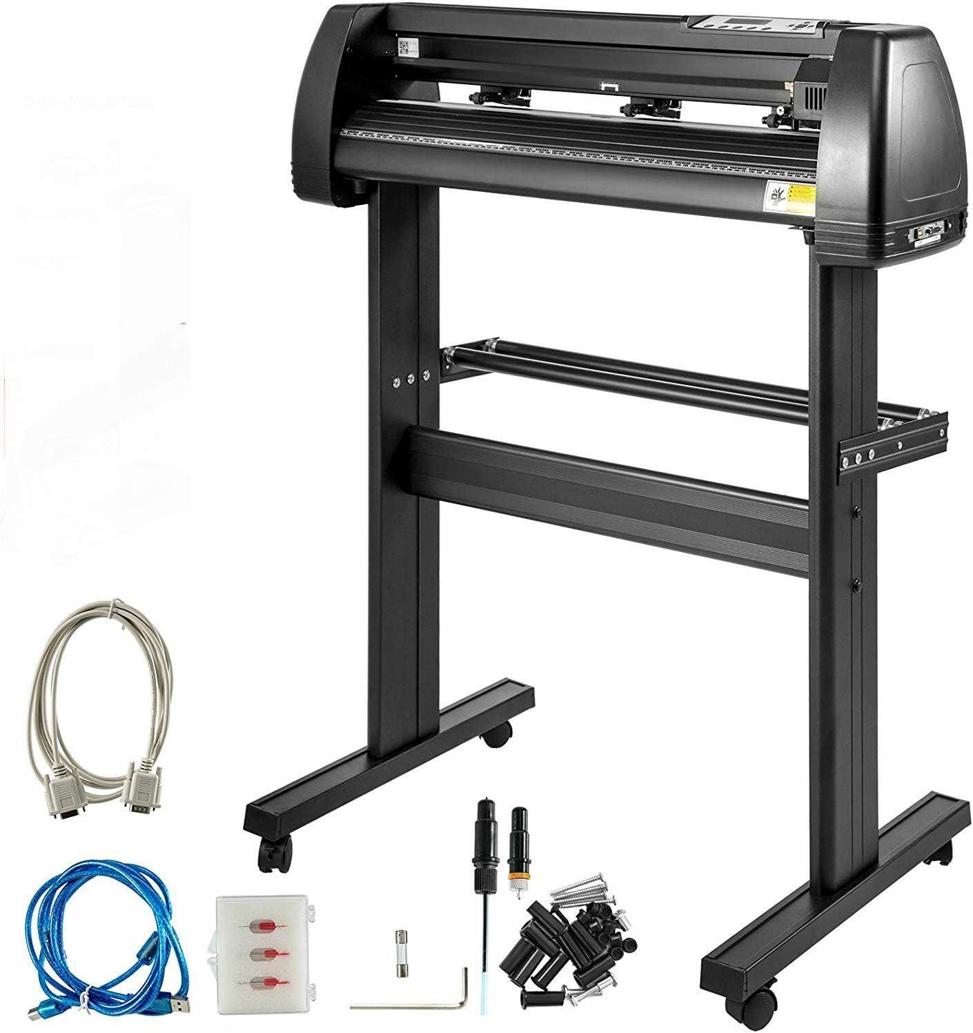 SHIJING Plotter Plotter de Corte 28 Pulgadas Stent Registro 720 mm Software de la máquina Plotter Plotter máquina de Hacer: Amazon.es: Deportes y aire libre