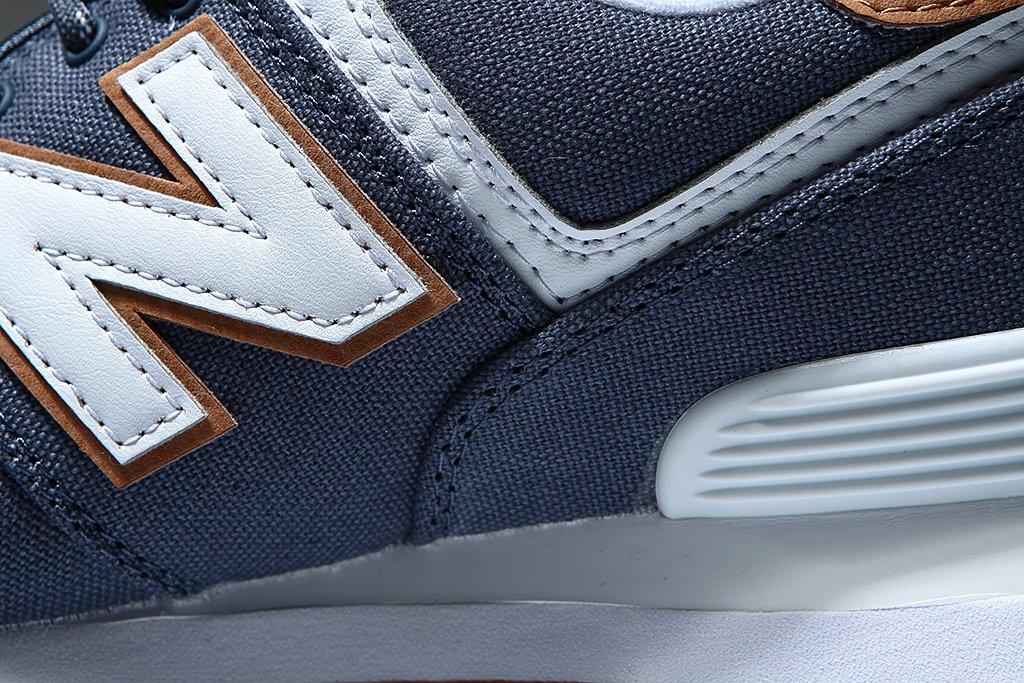 New Balance Damen Wl574v2 / Yatch Pack Sneaker Blau / Wl574v2 Braun / Weiß b9537d