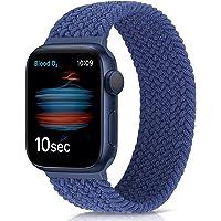 Runostrich Pleciony pasek do zegarka Solo Loop kompatybilny z Apple Watch SE seria 6, 44 mm, 42 mm, 40 mm, 38 mm…
