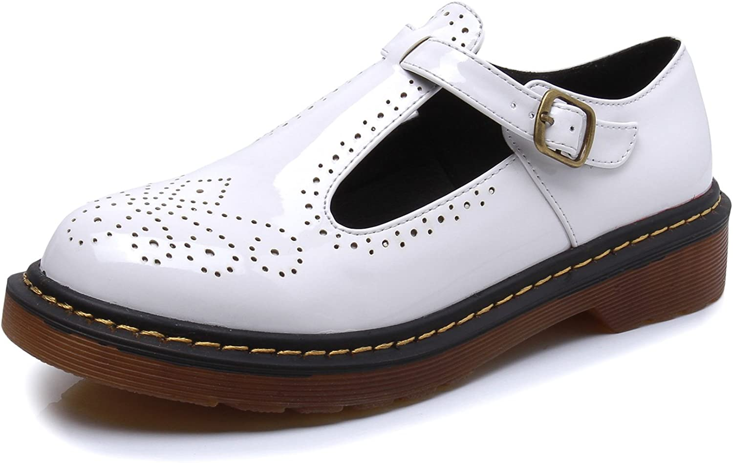 Smilun Women's Mary Jane Formal Shoes