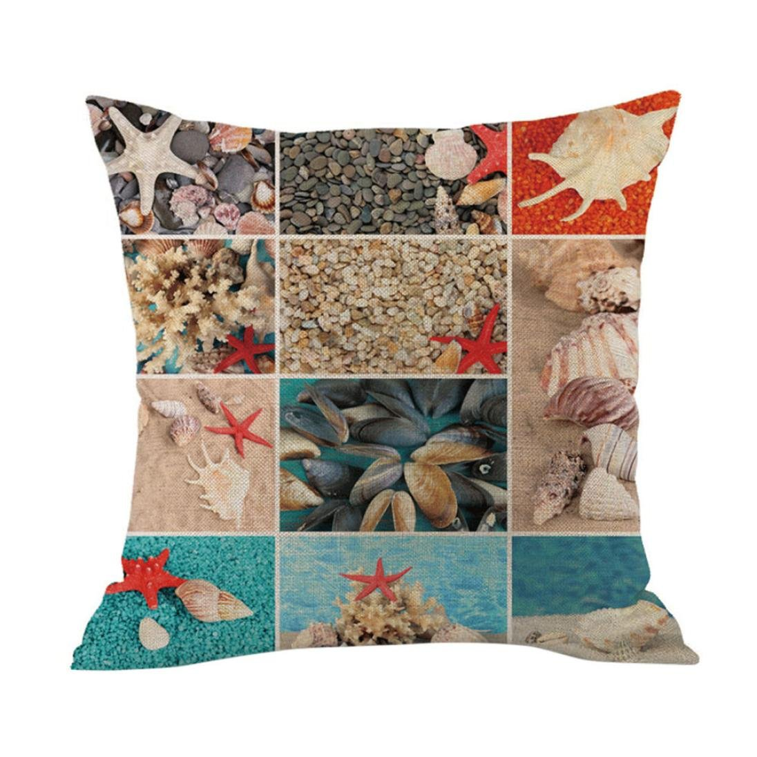 Easter Pillow Cover 2018 New, Home Decoration Festival Sofa Bed Pillow Case Cushion Cover (M)