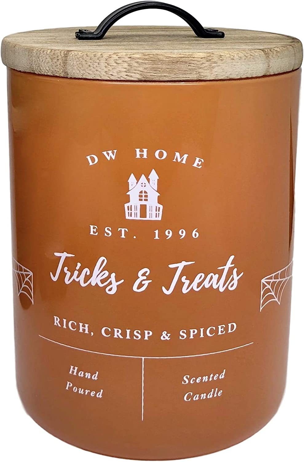 DW Home Tricks and Treats Oak Aged Bourbon Scented One Wick Candle