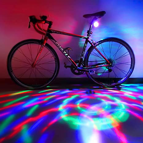 1 Red LED Bicycle Headlights Before The Bicycle Flashing Strobe Lights