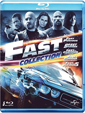 Fast Collection (5 Blu-ray) [Italia] [Blu-ray]