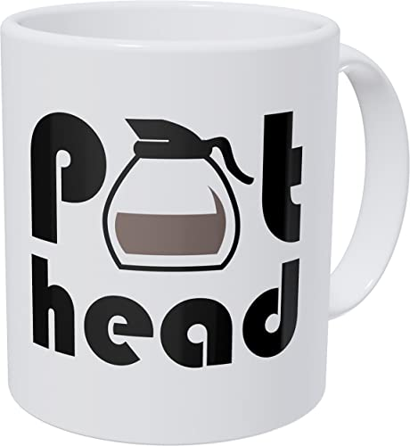 Willcallyou Pot Head 11 Ounces Funny Coffee Mug
